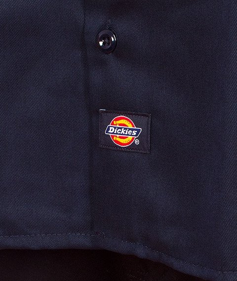 Dickies-Work Shirt Dark Navy