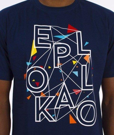 El Polako-Art. T-Shirt Granatowy