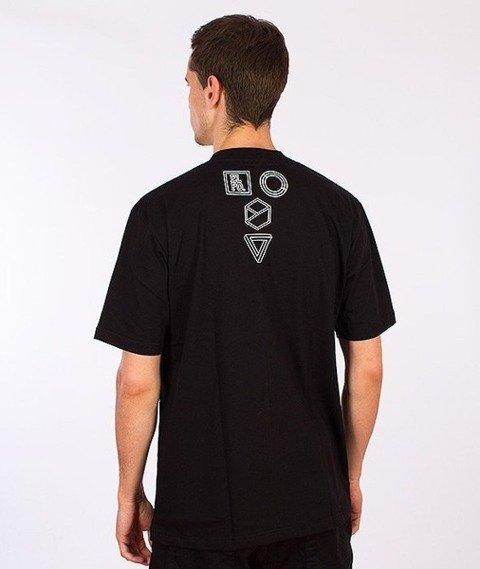 El Polako-Geometric Tiger T-Shirt Czarny