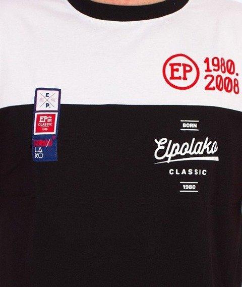 El Polako-Half Court T-Shirt Czarny/Biały