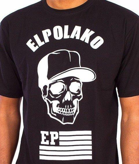 El Polako-Skull T-Shirt Czarny