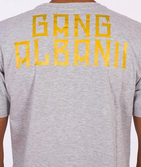 Gang Albanii-Type Kogz T-Shirt Szary
