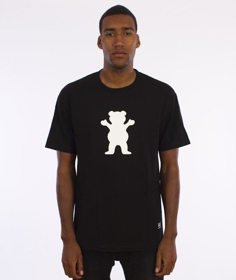 Grizzly-OG Bear Logo Basic T-Shirt Black