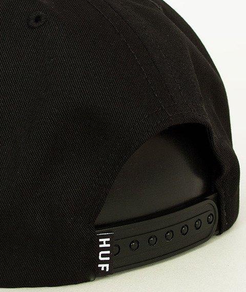 HUF-Eagle Snapback Black