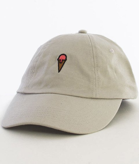 Hype-Ice Cream Dad Hat Czapka Z Daszkiem Grey