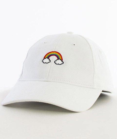 Hype-Rainbow Dad Hat Czapka Z Daszkiem White