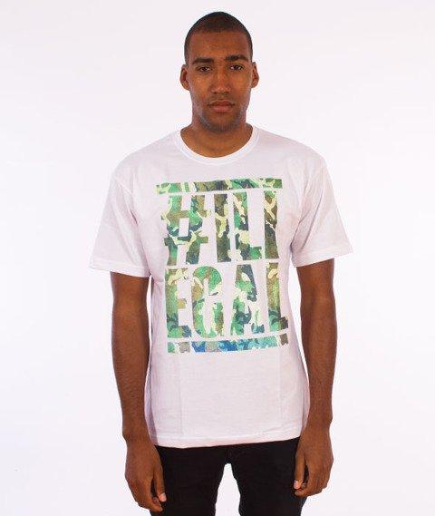 Illegal-Moro Belt  T-Shirt Biały