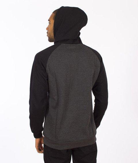 Iriedaily-De College Zip Hood Black