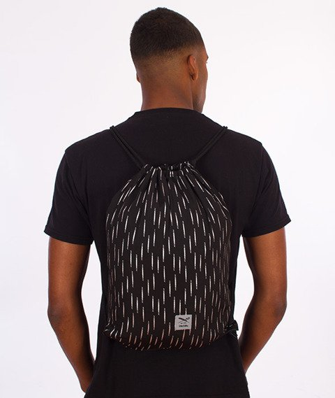 Iriedaily-Rainflective Beutel Sports Bag Black