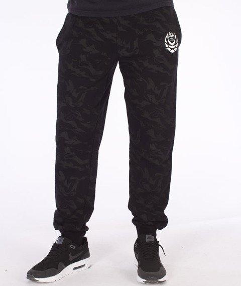 Koka-Camonaked Mono Spodnie Dresowe Czarne