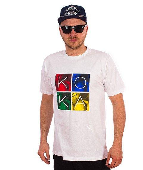 Koka-Kids T-Shirt Biały