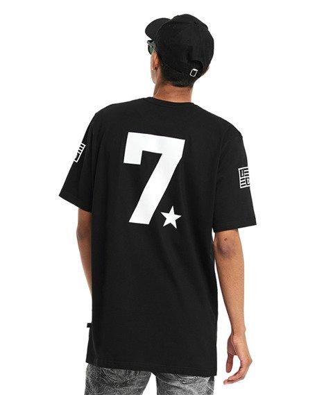 Lucky Dice-LD Seven T-shirt Czarny