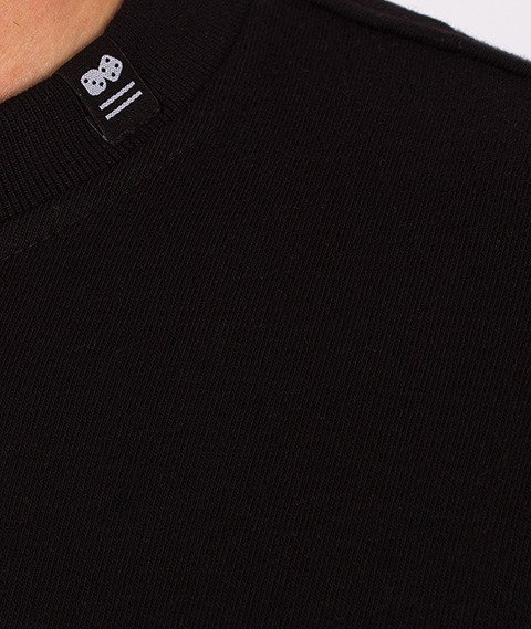 Lucky Dice-Triangle Bluza Czarna/Bordowa