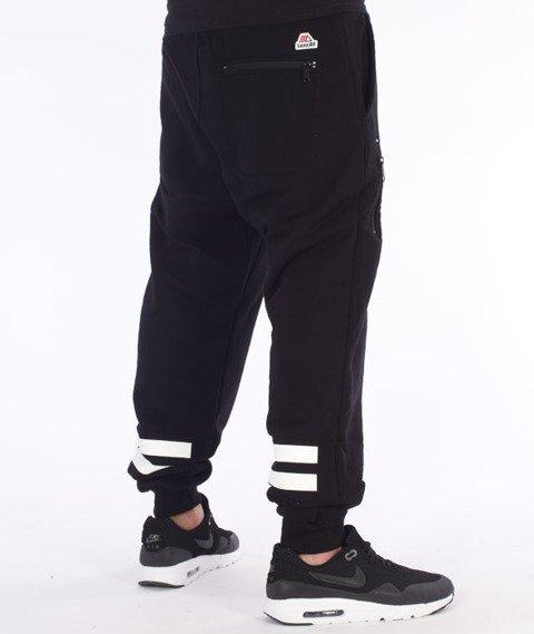 LuxxAll-Graff Spodnie Dresowe Czarne