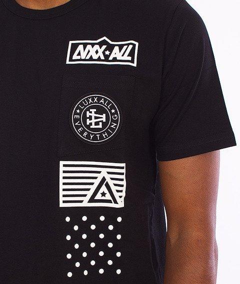 LuxxAll-Pocket T-Shirt Czarny