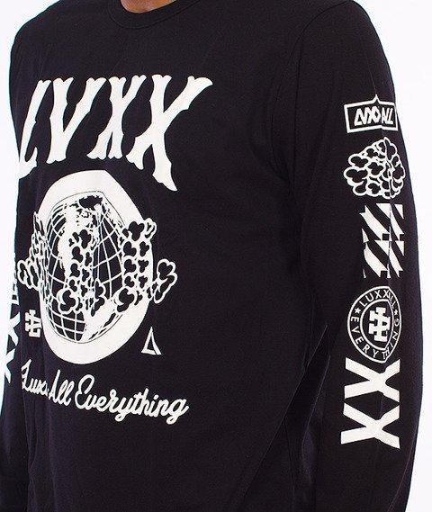 LuxxAll-Worldwide Longsleeve Czarny