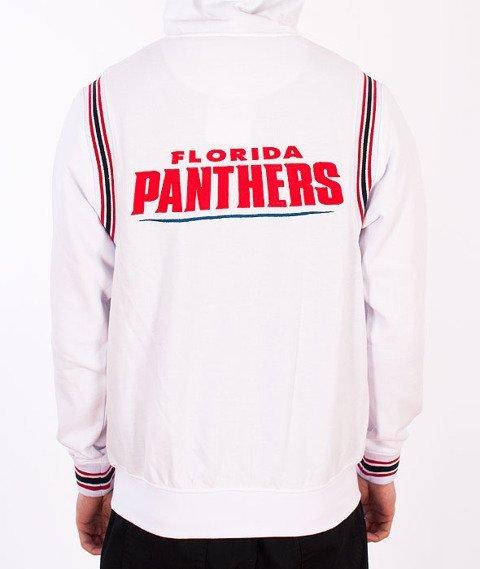 Majestic-Florida Panthers Zip Hoodie White