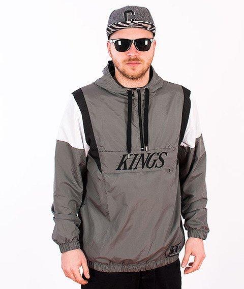 Majestic-LA KINGS Grover OTH Jacket Grey