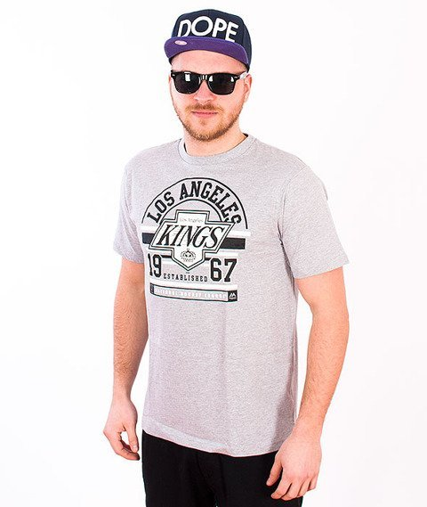 Majestic-Los Angeles Kings T-shirt Grey