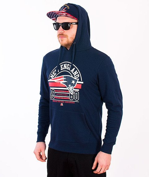 Majestic-New England Patriots Hoodie Navy
