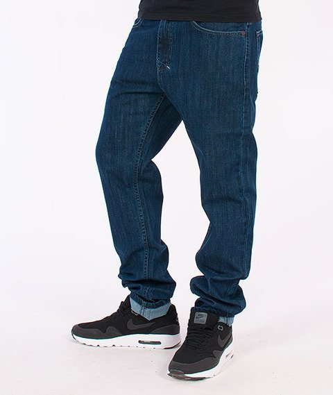 Mass-Dope Tapered Fit Jeans Blue
