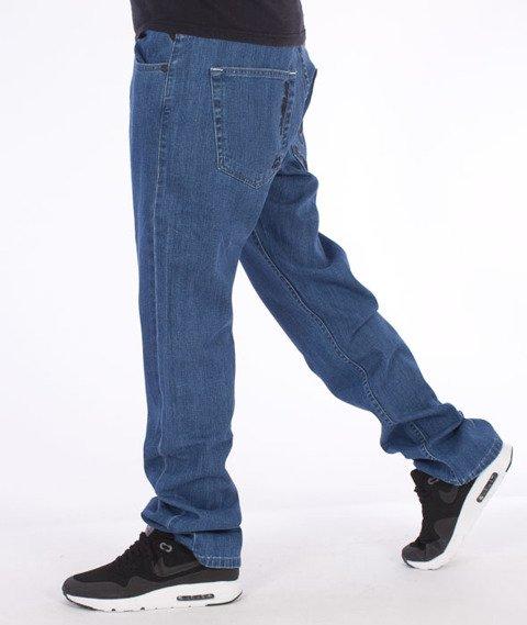 Mass-Stamp Regular Fit Jeans Light Blue