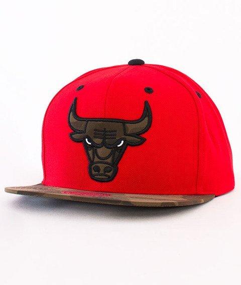 Mitchell & Ness-Camo Infill Chicago Bulls Snapback VC96Z