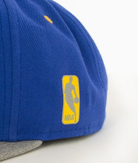 Mitchell & Ness-Greytist Golden State Warriors Snapback EU938 Niebieski/Szary