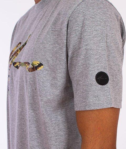 Moro Sport-Paris Camo T-Shirt Melanż