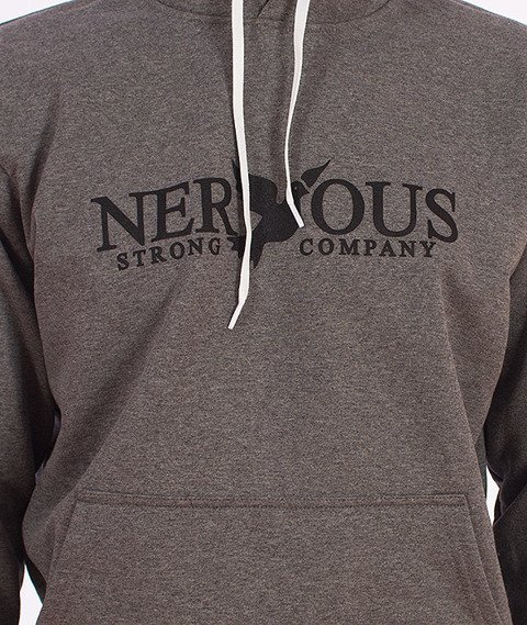 Nervous-Classic Fa16 Bluza z Kapturem Szara