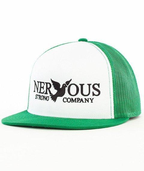 Nervous-Classic Snapback Tirówka Biała/Zielona