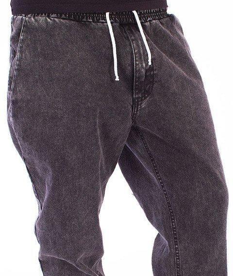 Nervous -Spodnie Jogger Jeans Grey/Marble