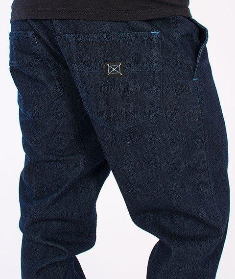 Nervous -Spodnie Sp16 Jogger Jeans Indigo