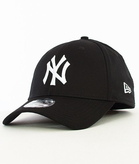 New Era-Basic New York Yankees Czapka z Daszkiem Czarna