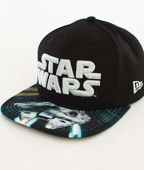 New Era-Star Wars Scene Falcon Snapback Czarny