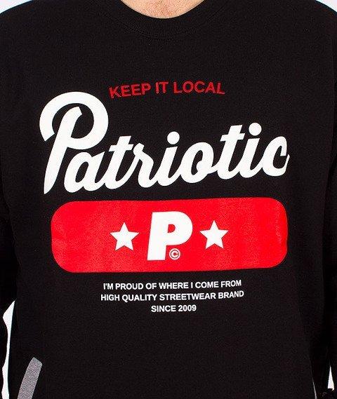 Patriotic-Base Bluza Czarna/Szara
