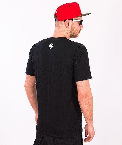 Patriotic-Made In T-shirt Czarny