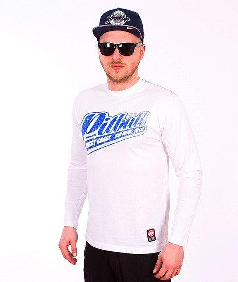Pit Bull West Coast-Blue Brand Longsleeve White