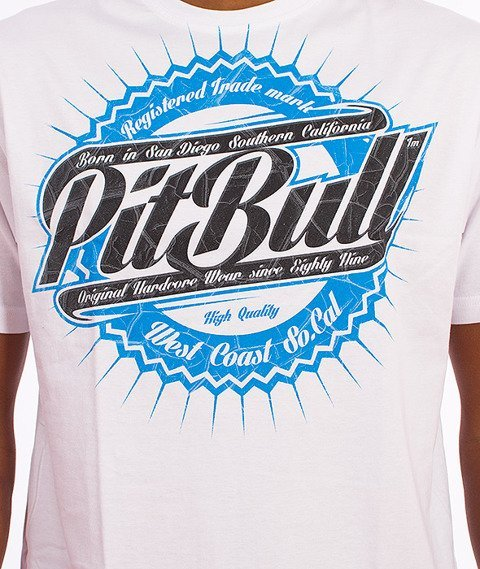 Pit Bull West Coast-Stamp T-shirt Biały