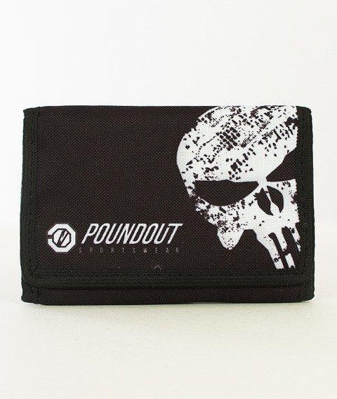 Poundout-Hate Portfel Czarny