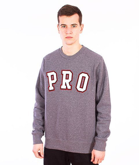 Prosto-Like A Pro Bluza Medium Heather Gray