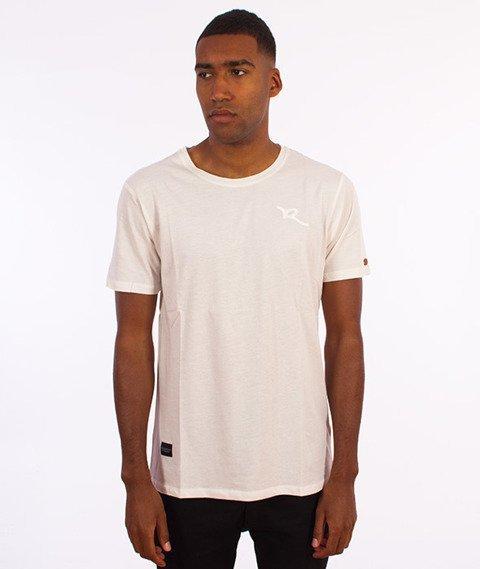 Rocawear-Cheq Long T-Shirt Biały