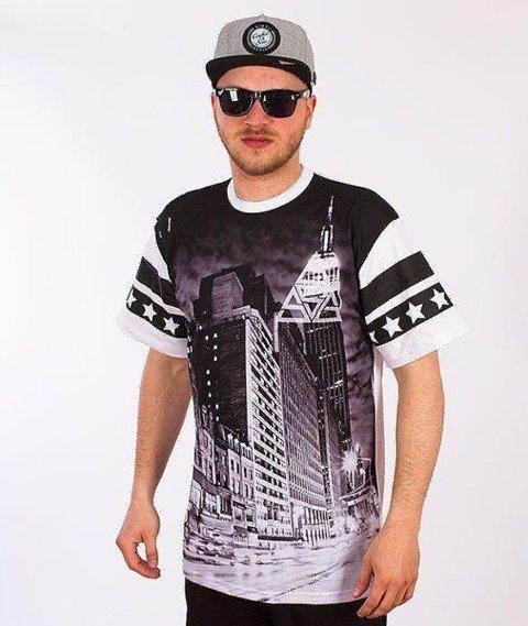 SmokeStory-Black City T-Shirt Biały