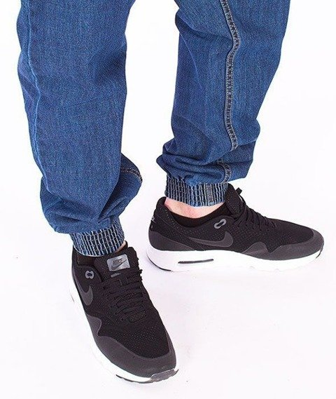 SmokeStory-Chino Jogger Regular Jeans Medium Blue
