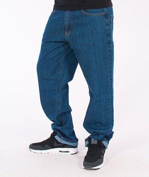 SmokeStory-Classic Regular Jeans Medium Blue