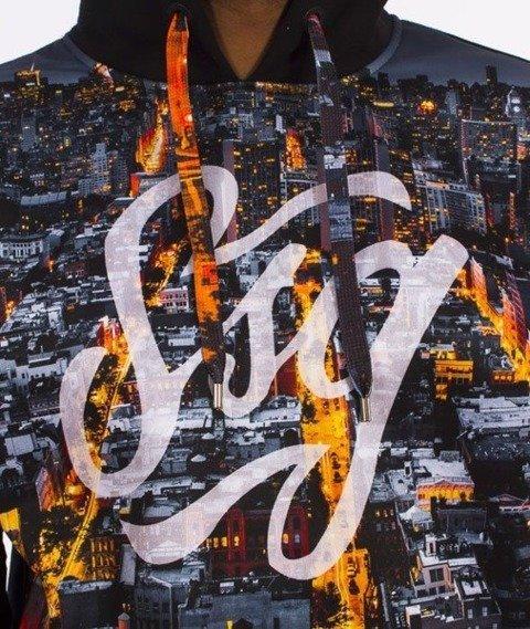 SmokeStory-Dark City Tag Bluza Kaptur Czarna