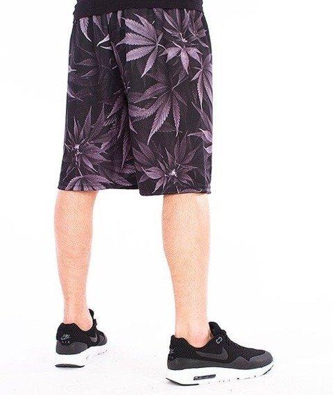 SmokeStory-Mary Jane Krótkie Spodnie Full Print Multikolor