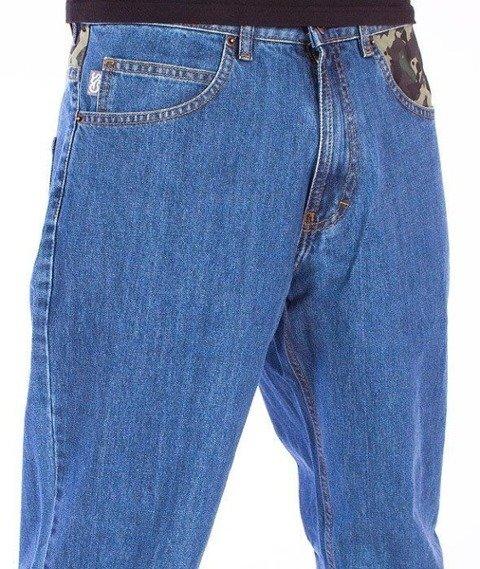 SmokeStory-Moro Wstawka Regular Jeans Light Blue