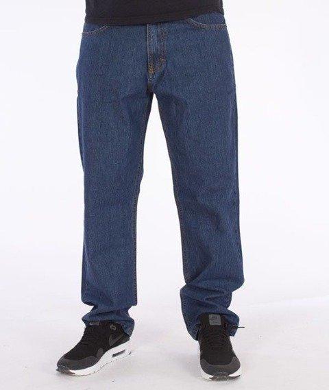 SmokeStory-SSG Tag Regular Jeans Medium Blue