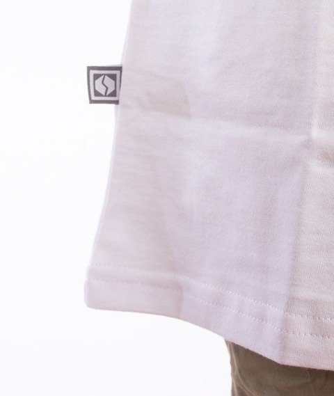 SmokeStory-SSG Tag T-Shirt Biały